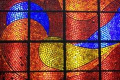 Mosaico de cristal Imagen de archivo libre de regalías
