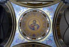 Mosaico de Cristo Pantocrator Imágenes de archivo libres de regalías