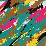 Mosaico de Grunge Imagens de Stock Royalty Free