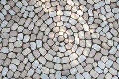 Mosaico de guijarros ovales Imágenes de archivo libres de regalías
