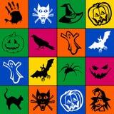 Mosaico de Halloween Ilustração Stock