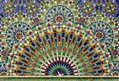 Mosaico de la fuente Imagen de archivo libre de regalías