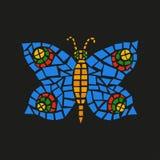 Mosaico de la mariposa Libre Illustration