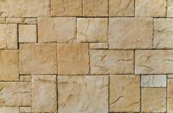 Mosaico de la pared de piedra Fotografía de archivo