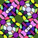 Mosaico de la textura ilustración del vector