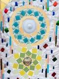 Mosaico de las baldosas cerámicas Foto de archivo