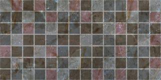 Mosaico de las baldosas cerámicas Fotografía de archivo