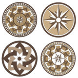 Mosaico de las ilustraciones Fotografía de archivo libre de regalías