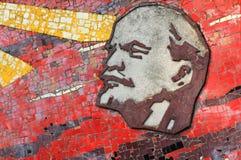 Mosaico de Lenin fotografía de archivo libre de regalías