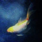 Mosaico de los pescados Fotografía de archivo