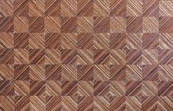 Mosaico de madera Imagenes de archivo