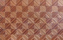 Mosaico de madera Fotografía de archivo libre de regalías