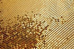 Mosaico de oro Foto de archivo libre de regalías