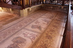 Mosaico de Paphos Imagens de Stock