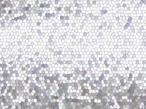 Mosaico de prata Imagens de Stock