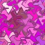 Mosaico de Splat en teja abstracta en rosa y colores fucsias libre illustration