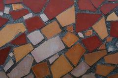 Mosaico de telhas coloridas Imagens de Stock