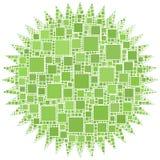 Mosaico de uma estrela Foto de Stock Royalty Free