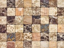 Mosaico de una piedra natural un fondo Imagenes de archivo