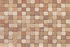 Mosaico de una piedra natural un fondo fotografía de archivo