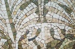 Mosaico de una piedra natural un fondo foto de archivo libre de regalías