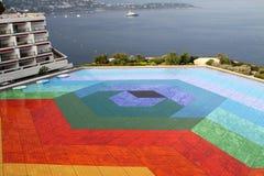 Mosaico de Vasarely em Monte - Carlo Fotos de Stock Royalty Free