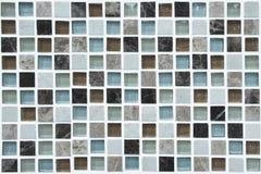 Mosaico de vidro Fotografia de Stock