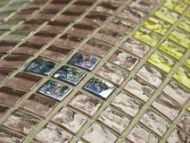 Mosaico de vidro Imagens de Stock Royalty Free