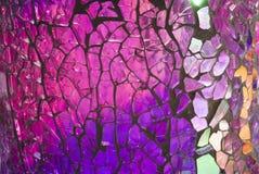 Mosaico de vidro quebrado Imagens de Stock Royalty Free