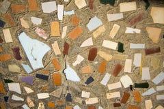 Mosaico de vidro #1 vermelho Imagem de Stock Royalty Free