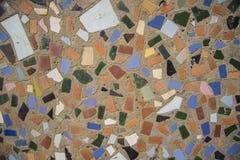 Mosaico de vidro #2 vermelho Fotos de Stock