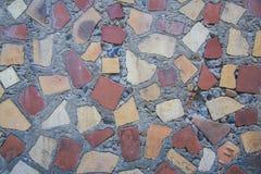 Mosaico de vidro #3 vermelho Foto de Stock
