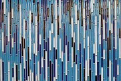 Mosaico decorativo Immagini Stock