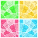 Mosaico degli ambiti di provenienza con le farfalle Immagini Stock Libere da Diritti