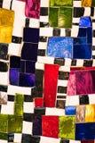 Mosaico dei pezzi di vetro colorati Fotografia Stock