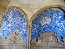 Mosaico del blu di BeautÑ-ful Immagini Stock Libere da Diritti