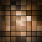 Mosaico del Brown Immagini Stock