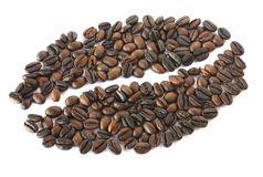 Caffè Bean Mosaic fotografia stock