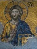 Mosaico del Christ, Hagia Sophia fotografia stock