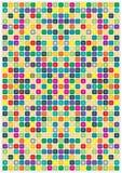 Mosaico del color Fotografía de archivo libre de regalías