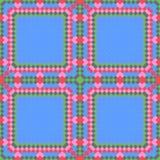 Mosaico del color - modelo Foto de archivo libre de regalías