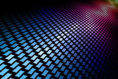 mosaico del espectro 3D stock de ilustración