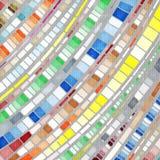 Mosaico del evento stock de ilustración