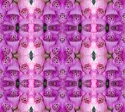 Mosaico del fiore Immagine Stock