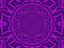 Mosaico del flower power Imagen de archivo
