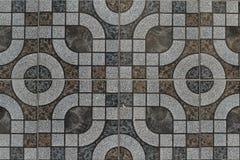 Mosaico del fondo de mármol coloreado Imagen de archivo libre de regalías