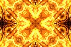 Mosaico del fuoco Immagine Stock