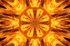 Mosaico del fuoco Fotografie Stock