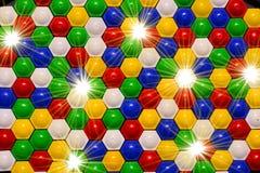 Mosaico del giocattolo Immagini Stock Libere da Diritti
