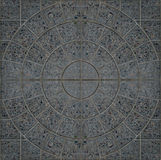 Mosaico del granito Immagini Stock